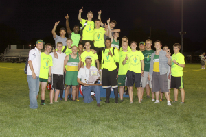 For just the second time in school history, the Eastern boys track and field team won an IHSAA sectional. (SJ Photo: William Gibson)