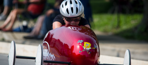 Rachel Carden was crowned the City of Firsts Soap Box Derby Super Stock Division champion. (Photo by Raul Mosley)