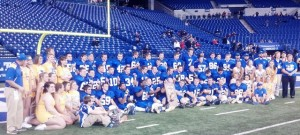 IHSAA Class 1A State Football Champions - Tri-Central Trojans