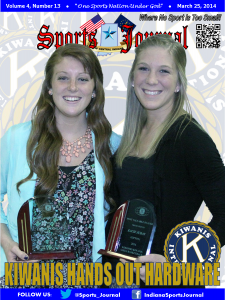 Front Cover - Vol 4 No 13 - March 25, 2014 (Carley O'Neal and Kacie Juday)