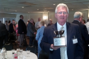 Kokomo native Mark Morrow was recently inducted into the Indiana Sportswriters and Sportscasters Association Hall of Fame.
