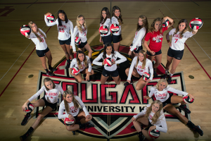 IU Kokomo women's volleyball team (courtesy of IU Kokomo)