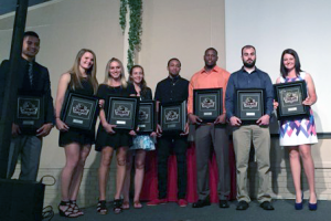 IU Kokomo senior student-athletes (class of 2016). Photo provided