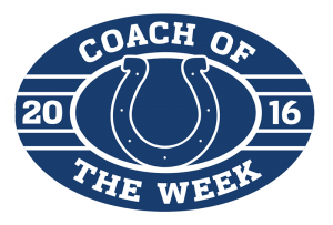 2016 Colts Coach of the Week Logo 2